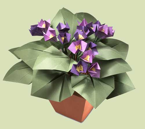 40 Origami Flowers You Can Do | Cuded | 445x500